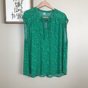 Old Navy Floral Top XXL
